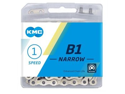 KMC B1 Narrow Silver 112L