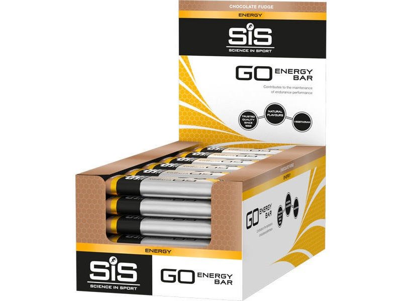 Science in Sport Go-Bar chocolate fudge 40g click to zoom image
