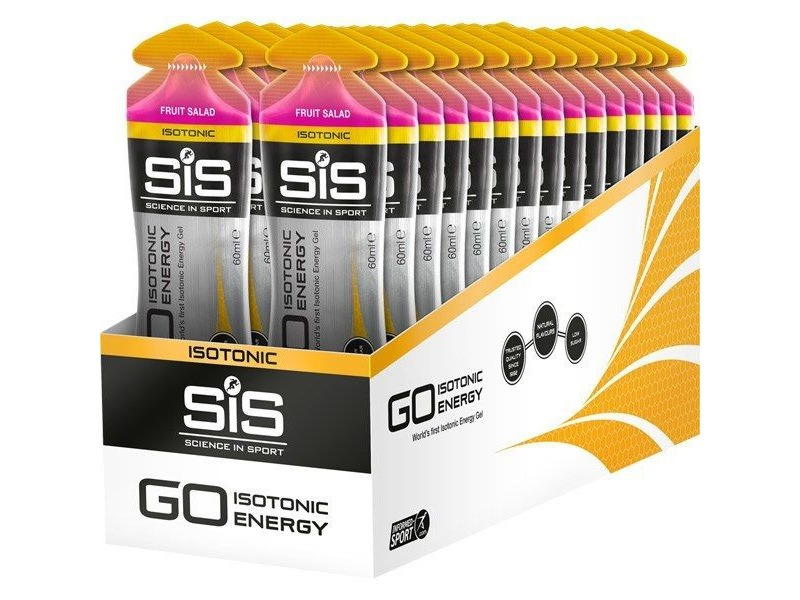 Science in Sport GO Isotonic Energy Gel - fruit salad 60 ml tube click to zoom image