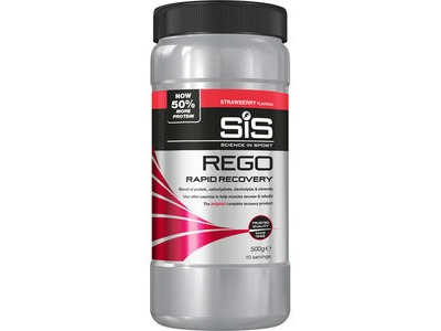 Science in Sport REGO Rapid Recovery strawberry 500g