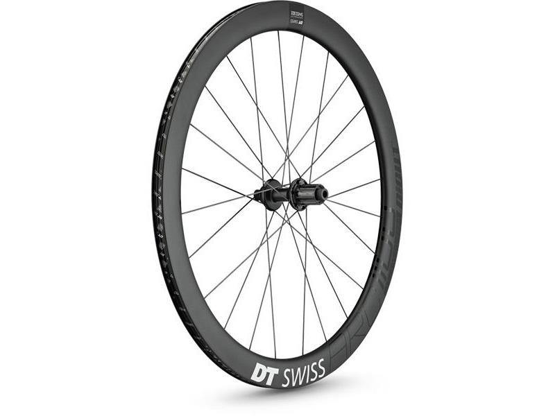 DT Swiss ARC 1100 DICUT disc, carbon clincher 48 x 17mm rim, rear click to zoom image