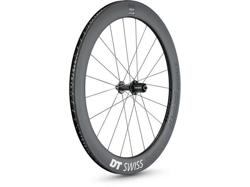 DT Swiss ARC 1100 DICUT wheel, carbon clincher 62 x 17mm rim, rear click to zoom image