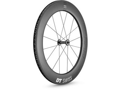 DT Swiss ARC 1400 DICUT wheel, carbon clincher 80 x 17 mm rim, front