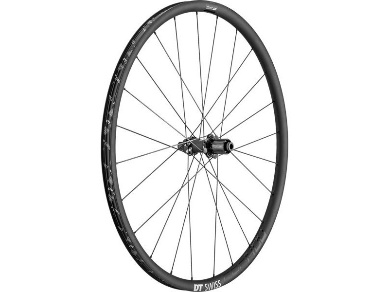 DT Swiss CRC 1400 SPLINE disc, carbon clincher 24 x 22mm, rear click to zoom image