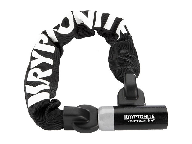 Kryptonite Kryptolok Series 2 955 Integrated Chain - 9 mm x 55 cm click to zoom image