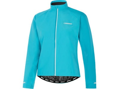 Madison Keirin women's waterproof jacket, caribbean blue