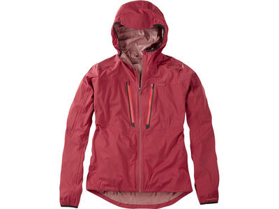 Madison Flux super light men's waterproof softshell jacket, blood red