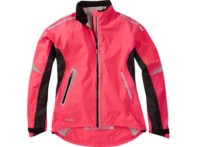 Madison Stellar women's waterproof jacket, diva pink