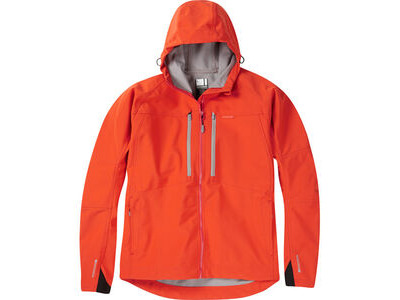 Madison Zenith men's softshell jacket, chilli red