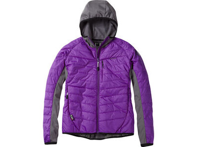 Madison DTE women's hybrid jacket, imperial purple