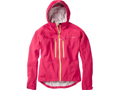 Madison Zena women's waterproof jacket, rose red