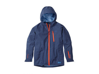 Madison Roam youth waterproof jacket, china blue