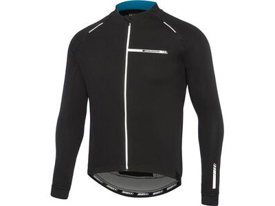 Madison Sportive men's softshell jacket, black