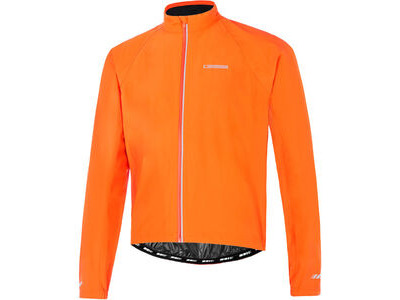 Madison Peloton men's waterproof jacket, chilli red