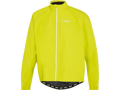 Madison Peloton men's waterproof jacket, lime punch