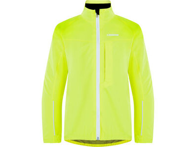 Madison Protec youth 2L waterproof jacket, hi-viz yellow