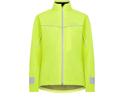 Madison Protec women's waterproof jacket, hi-viz yellow