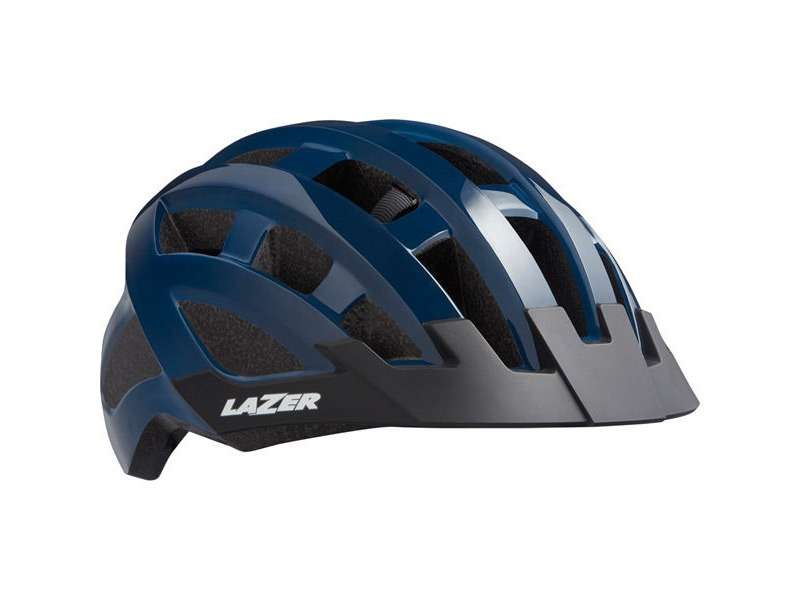 lazer Compact Helmet, Blue, Uni-Adult click to zoom image
